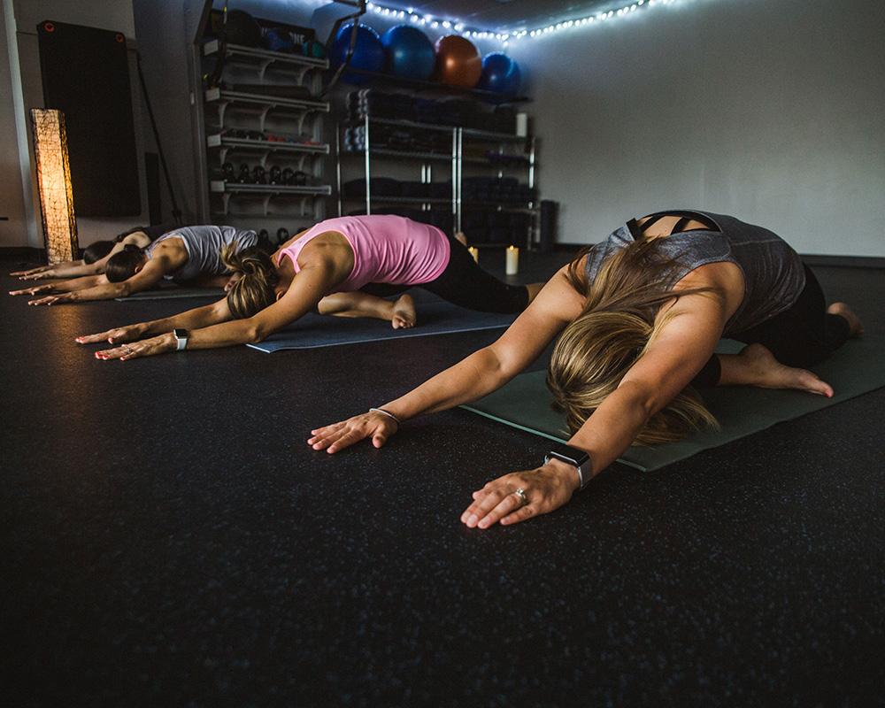 Yoga Class at Lewis Center