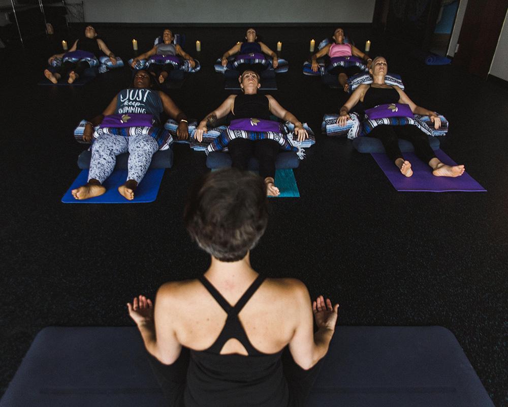Restorative Yoga Class at Lewis Center