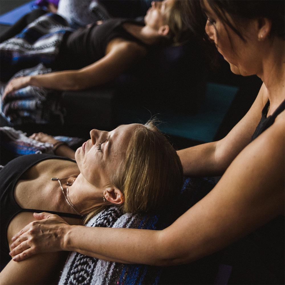 Restorative Yoga Class with Debbie Reichert